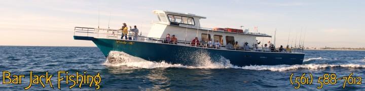 Bar jack fishing and the lady k deep sea drift fishing for Deep sea fishing west palm beach