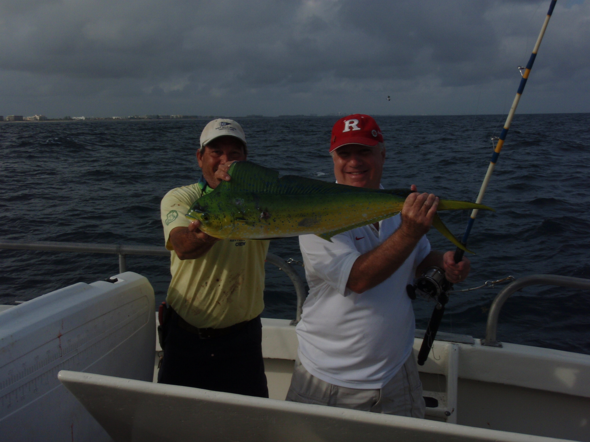 West palm beach party boat bar jack fishing and the 70 for Deep sea fishing west palm beach