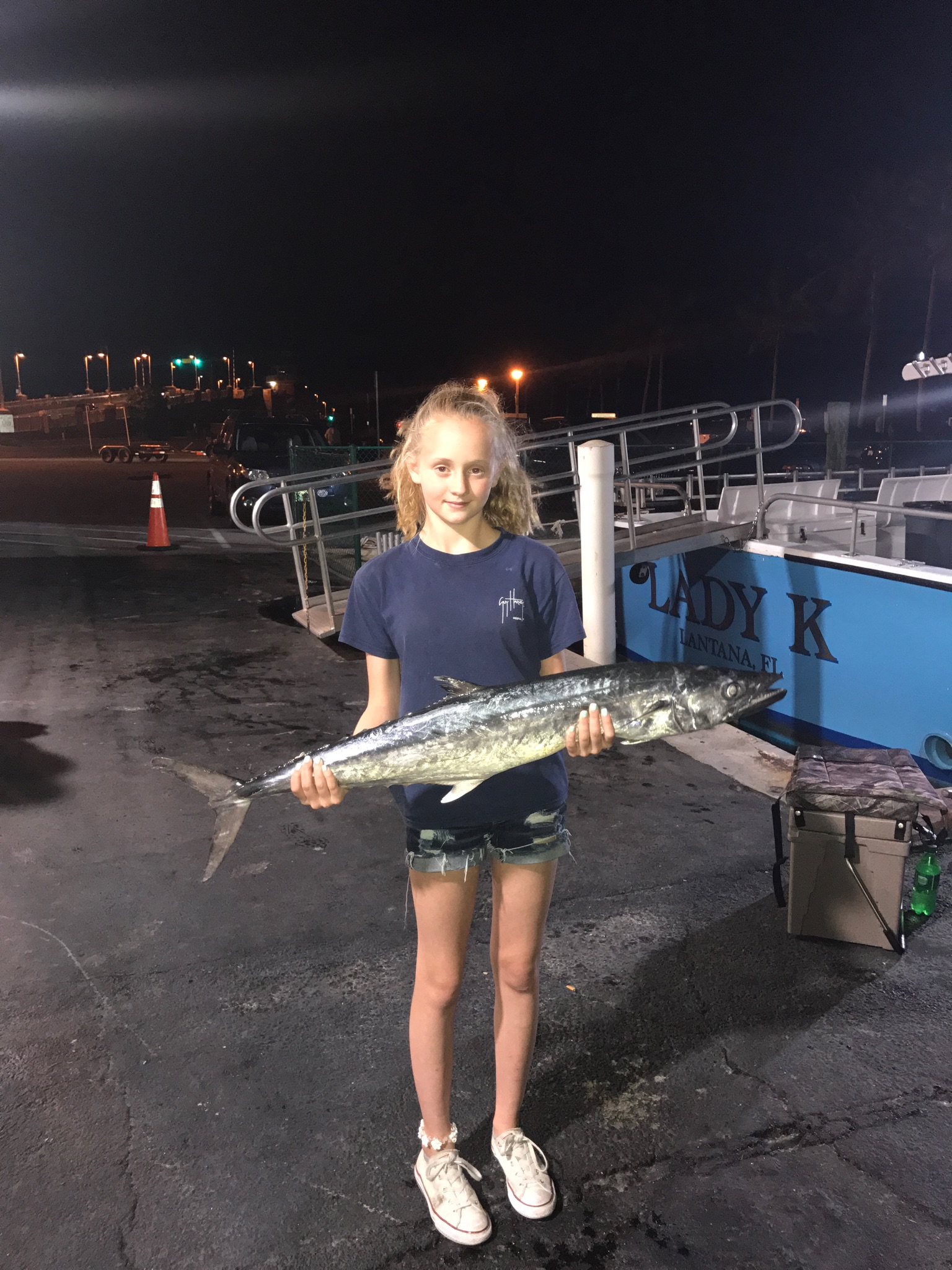 Best place to fish at night in lake worth bar jack for Bar jack fishing